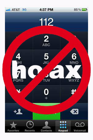 Calling #77 or 112 on your cell phone will summon police